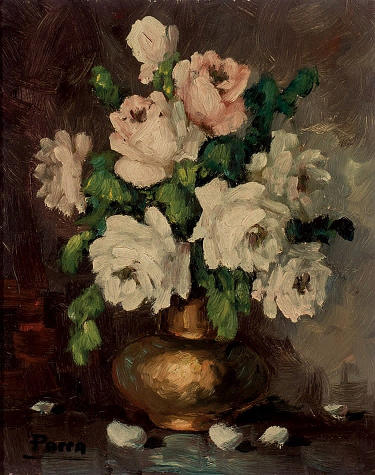 *Parra. Flower vase 2)