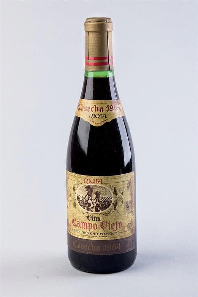 4 bottles Rioja Campo Viejo, 1964