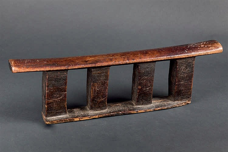A Zulu Headrest, early 20th C. South Africa
