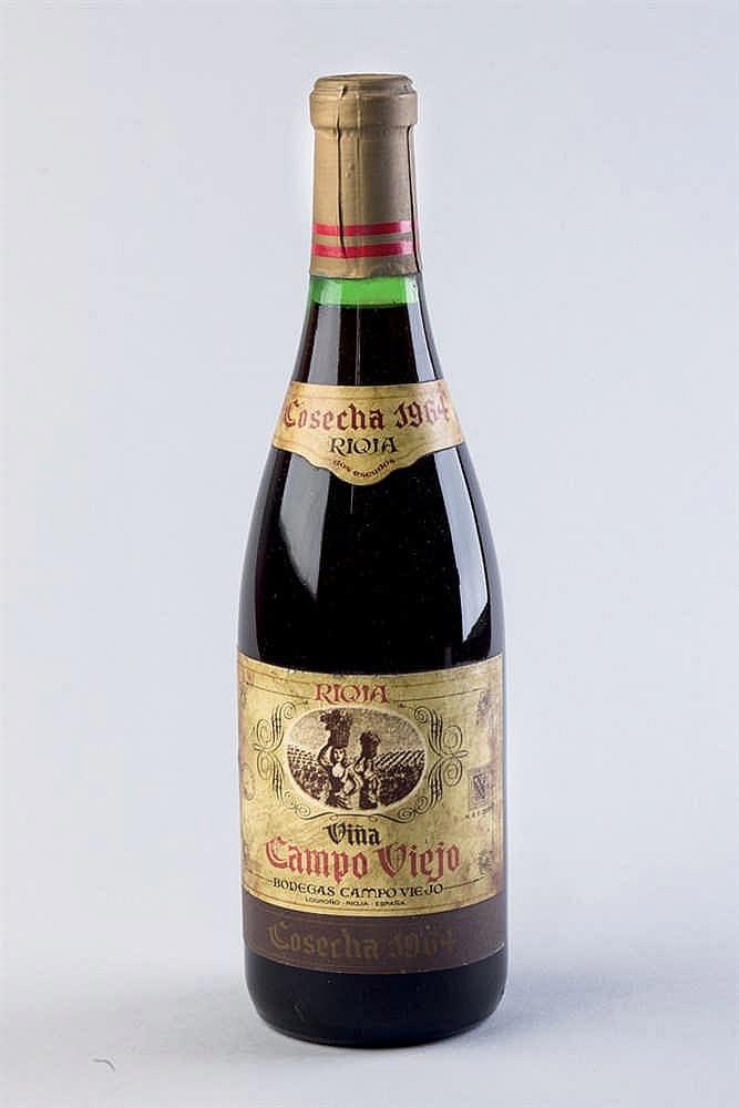 12 bottles Campo VIejo 1964