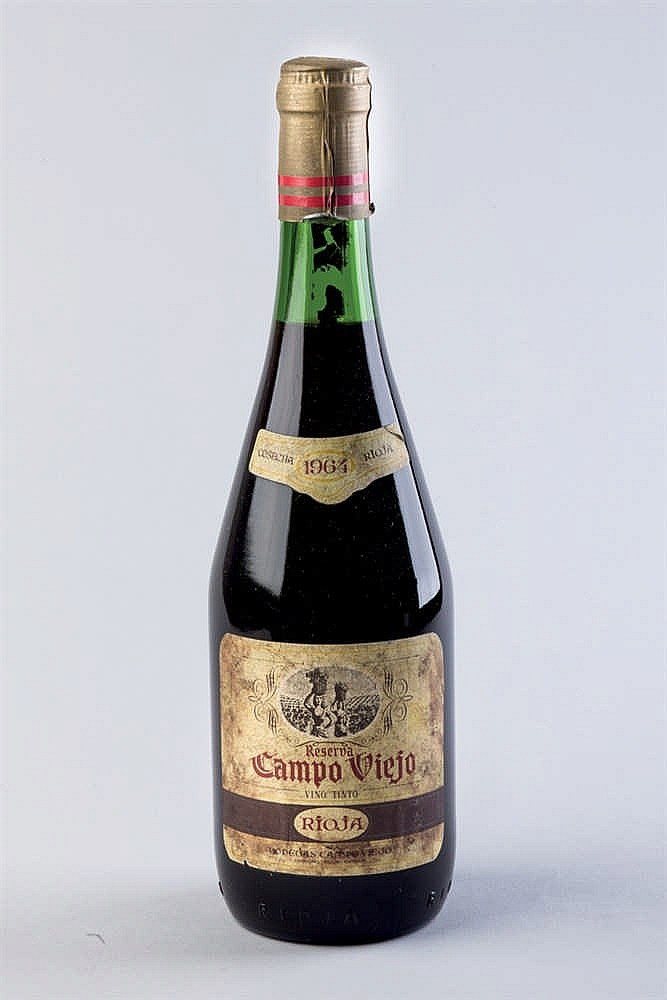 12 bottles Rioja Campo Viejo Reserva 1964