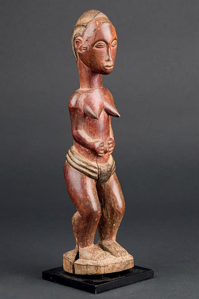 A Colonial Baule Figure, c. 1960. Ivory Coast