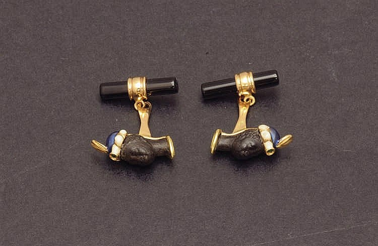 Moretto cufflinks