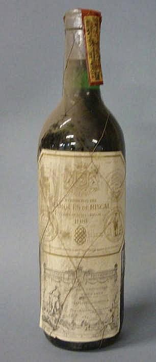 12 bottles Marqués de Riscal 1981