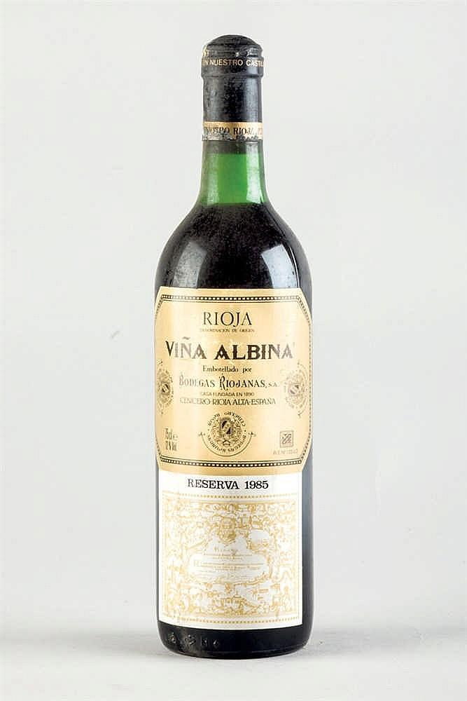 6 bottles Rioja Viña Albina R. 1996