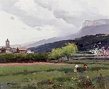 Josep Colomer. Landscape