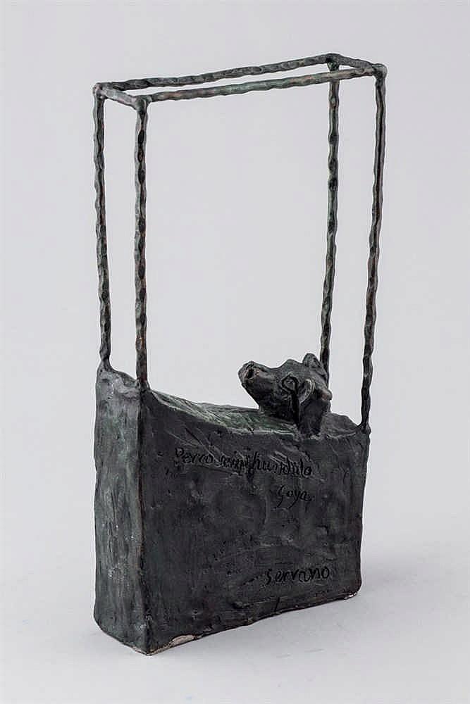 Pablo Serrano. El perro hundido (Goya)