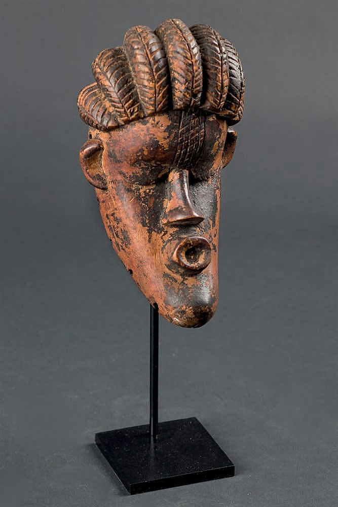 A Miniature Dey Mask Bassa, early 20th C. Liberia