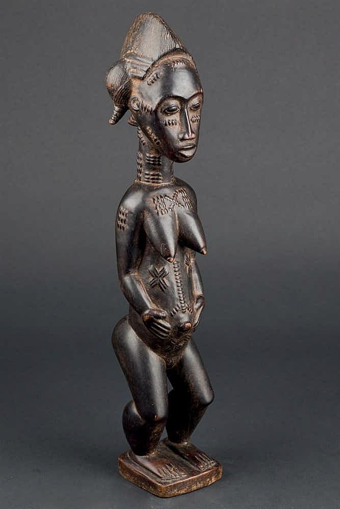 A Baule Figure. Ivory Coast