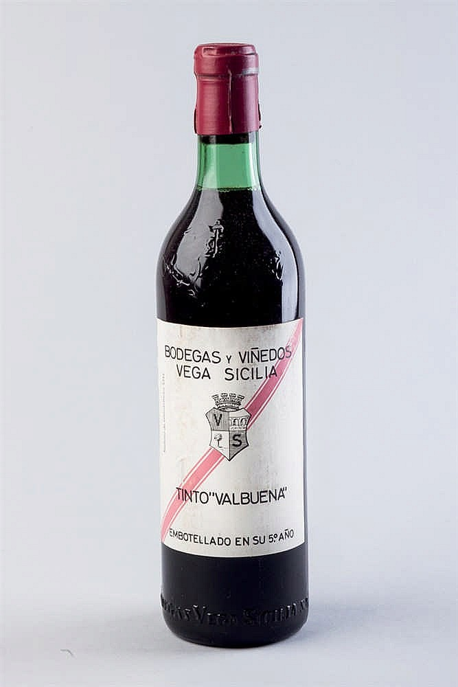 6 bottles Vega Sicilia Valbuena 5º año