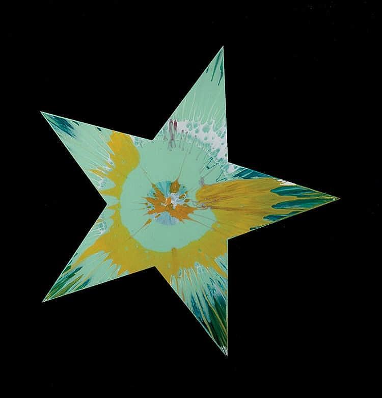 Damien Hirst. Star Spin
