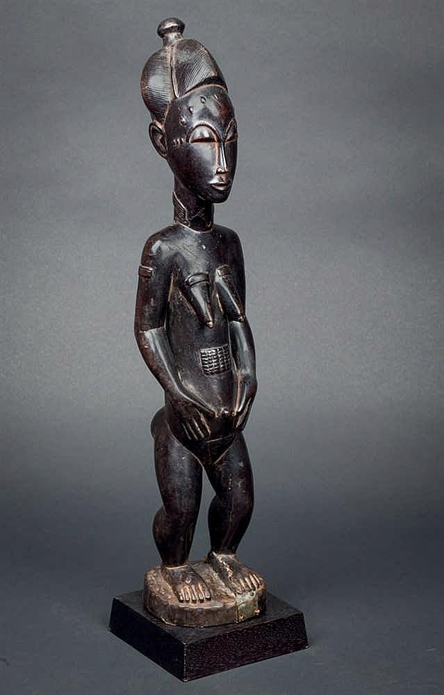 A Guro Figure. Ivory Coast