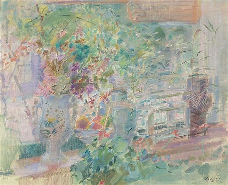 Julián Grau Santos. Still Life with Flowers