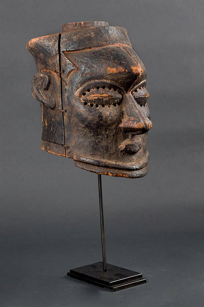 A Kuba Kete Mask, 19th C. D. R. Congo