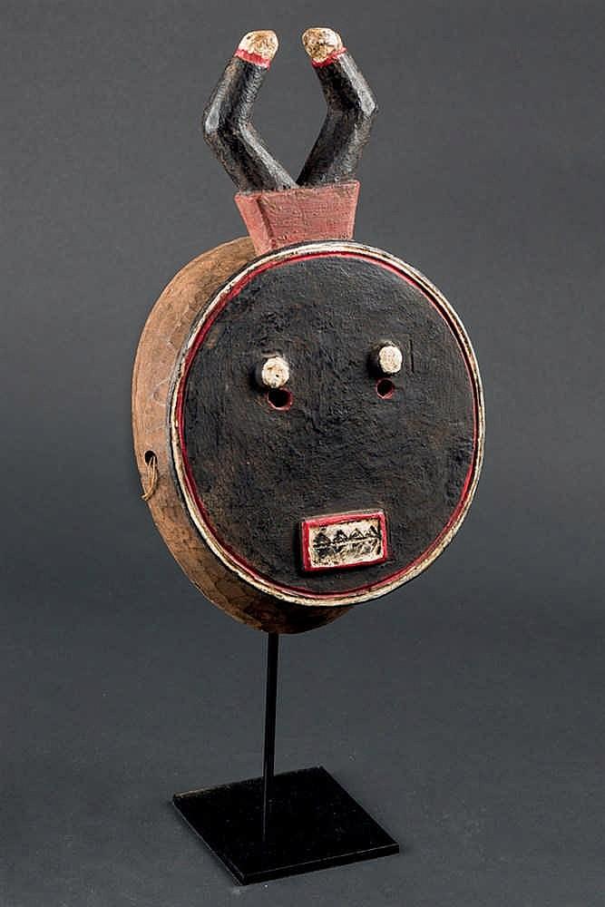 A Kple Kple Baule Mask, c. 1940. Ivory Coast