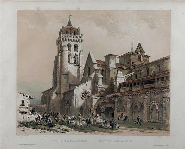 Jenaro Pérez Villaamil. Monastery of Las Huelgas
