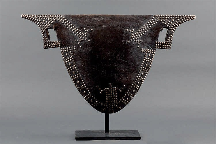 A Mangbetu Drum, D. R. Congo