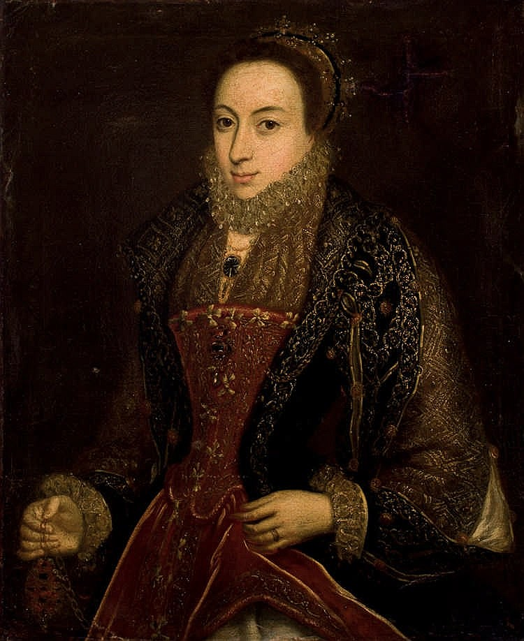 Antique European School. Portrait of a Lady