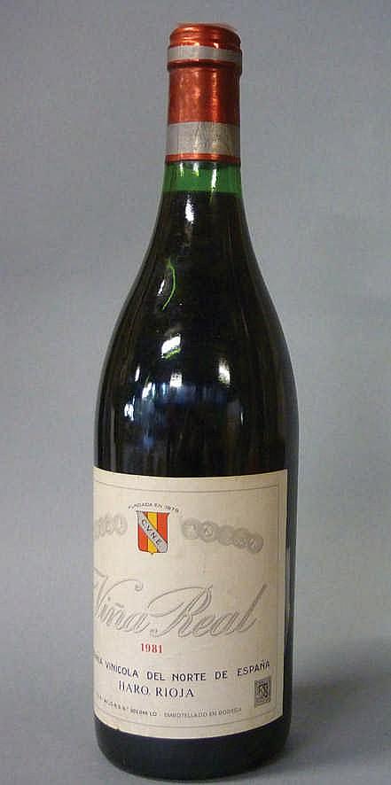 12 bottles Rioja Viña Real 1981