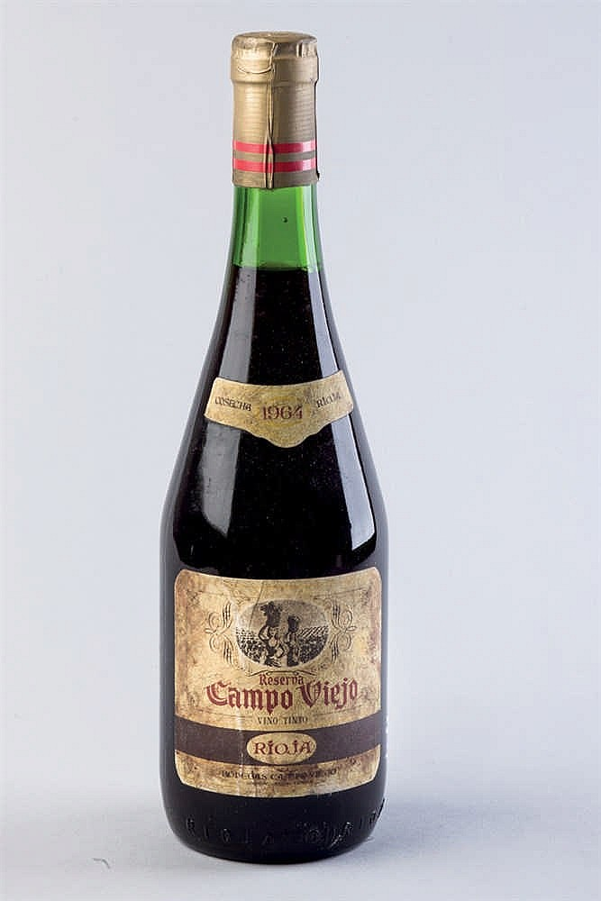 13 bottles Rioja Campo Viejo Reserva 1964