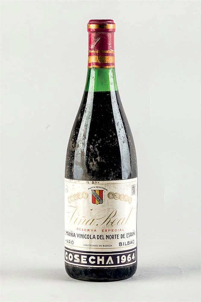Wine - botellas de Rioja Viña Real Reserva Especial