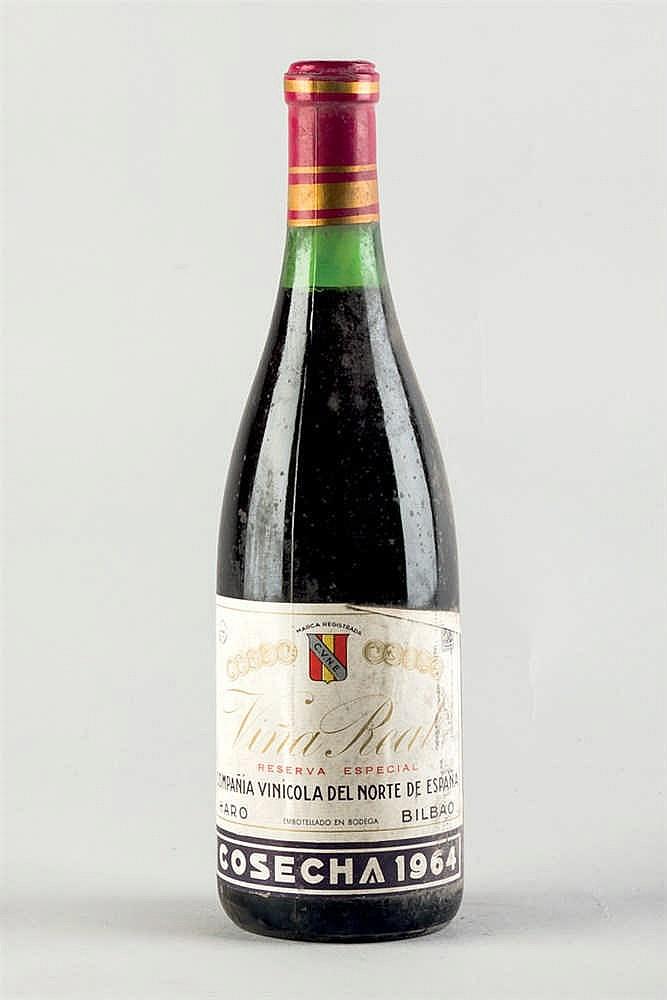 5 bottles Viña Real Reserva Especial 1964