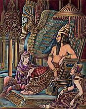 Ramón López Morelló. King of Asiria