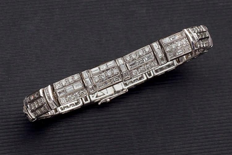 Diamond bracelet 8,91 cts