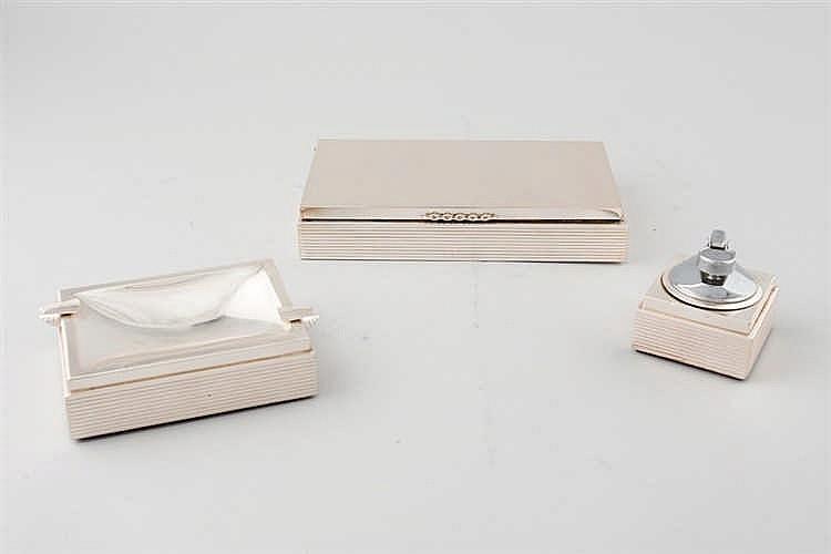 Smoker silver set