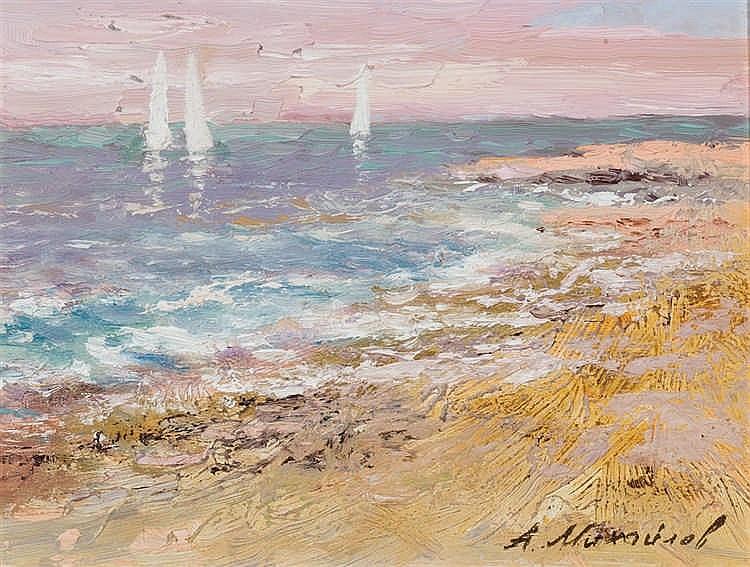 Alexander Mikhaylov. Marine landscapes