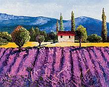 Lyubov Sinitsina. Coloured fields