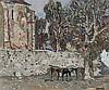 Agustín Redondela. Church with trees, Agustín Redondela, €6,000