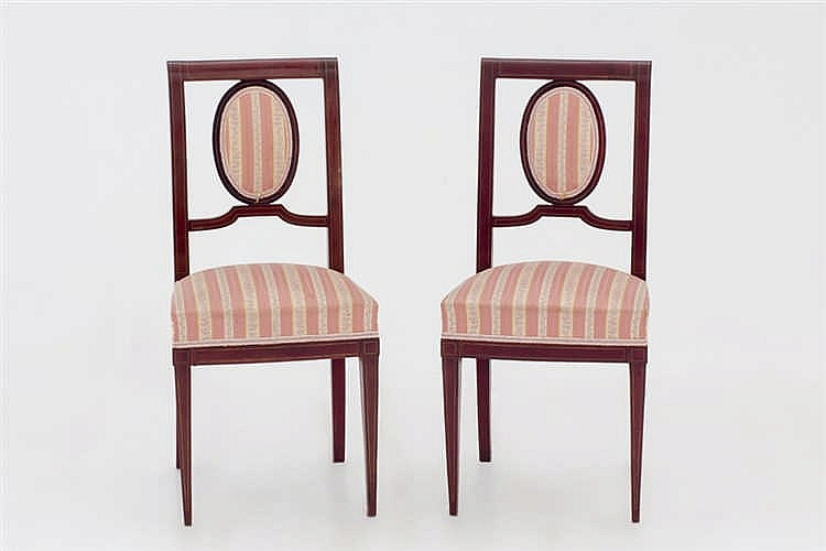 A pair of chairs C. 1930
