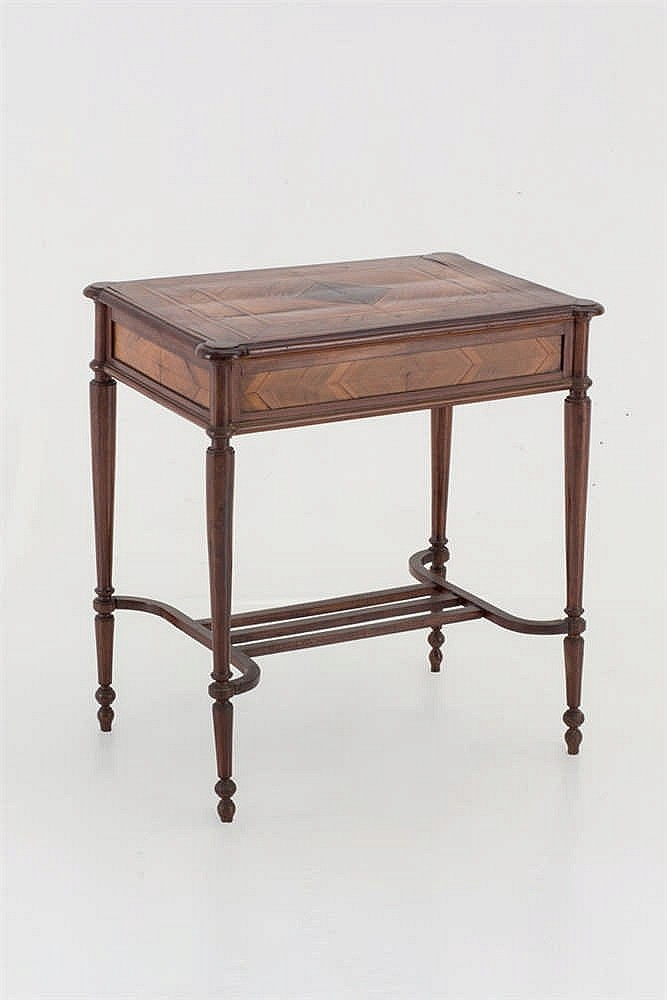 An Spanish occasional walnut table. C.1930