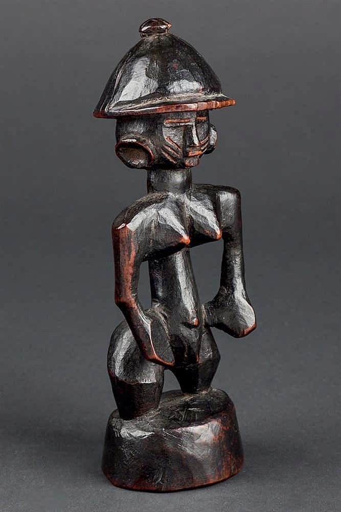 A Senufo Colonial Figure. Ivory Coast