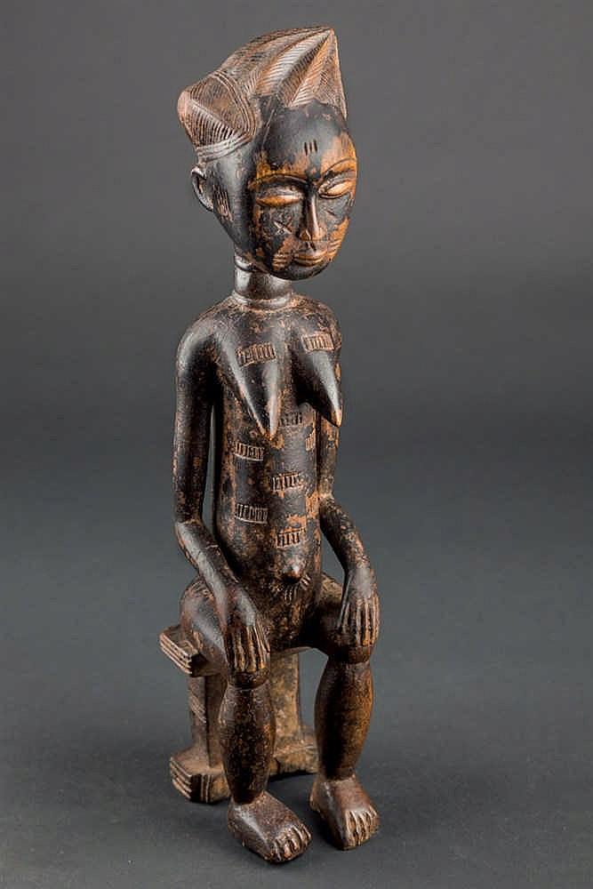 An Agni Figure, c. 1960-70. Ivory Coast