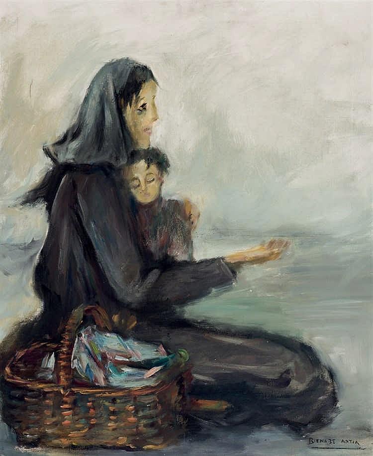 Bernardino Bienabe Artía. Charity