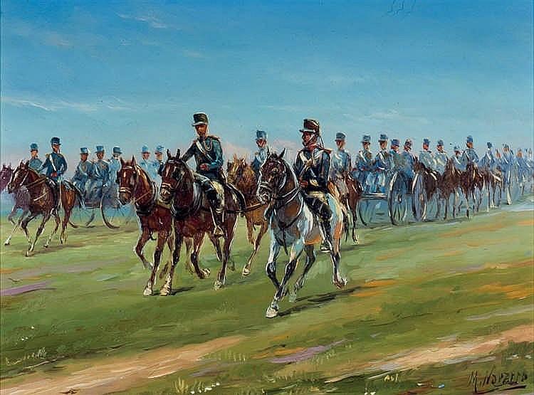 Manuel Navarro. Cavalry