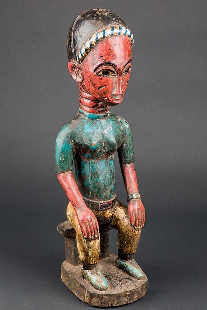 A Colon Sculpture, c. 1960-70. Ivory Coast