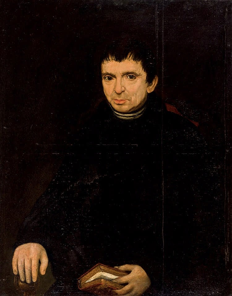 Spanish School, 19th C. Portrait of a Gentleman