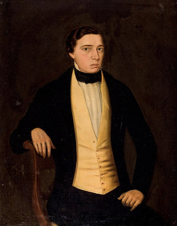 European School, 19th C. Portrait of a Gentleman