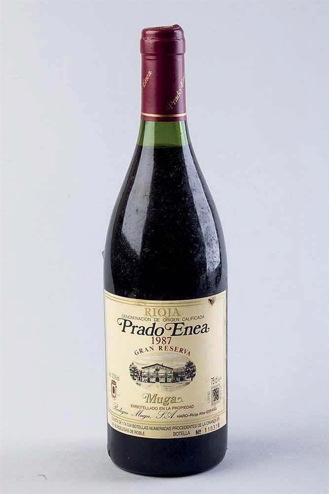 24 bottles Muga Prado Enea G. R. 1987