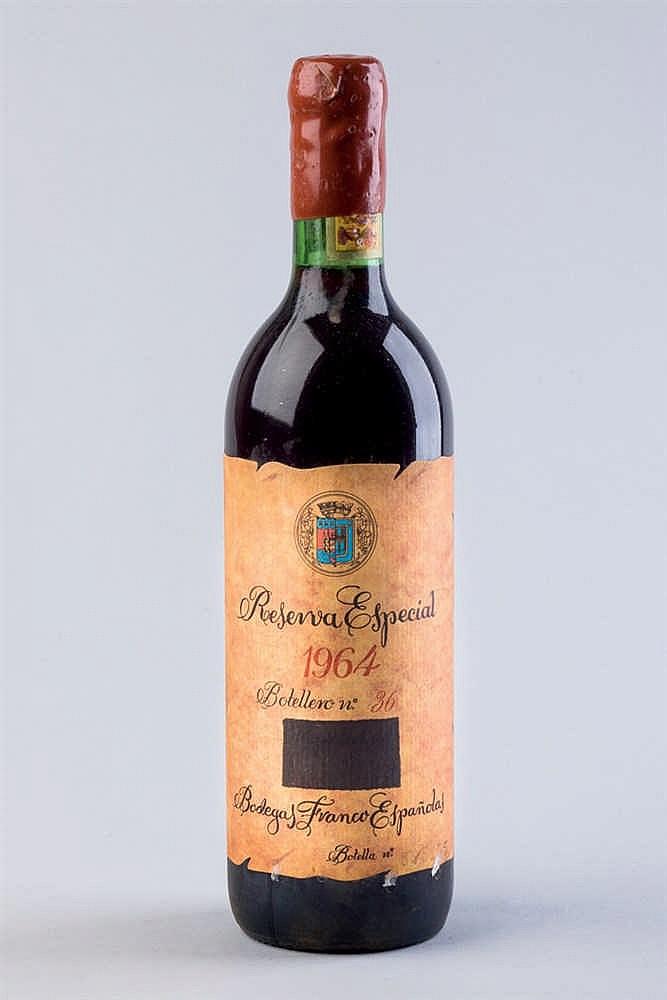 6 bottles Rioja B. Franco Españolas R. E. 1964
