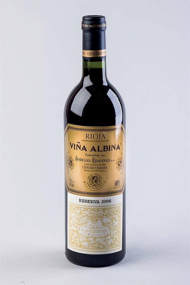 6 bottles Rioja Muga 1981