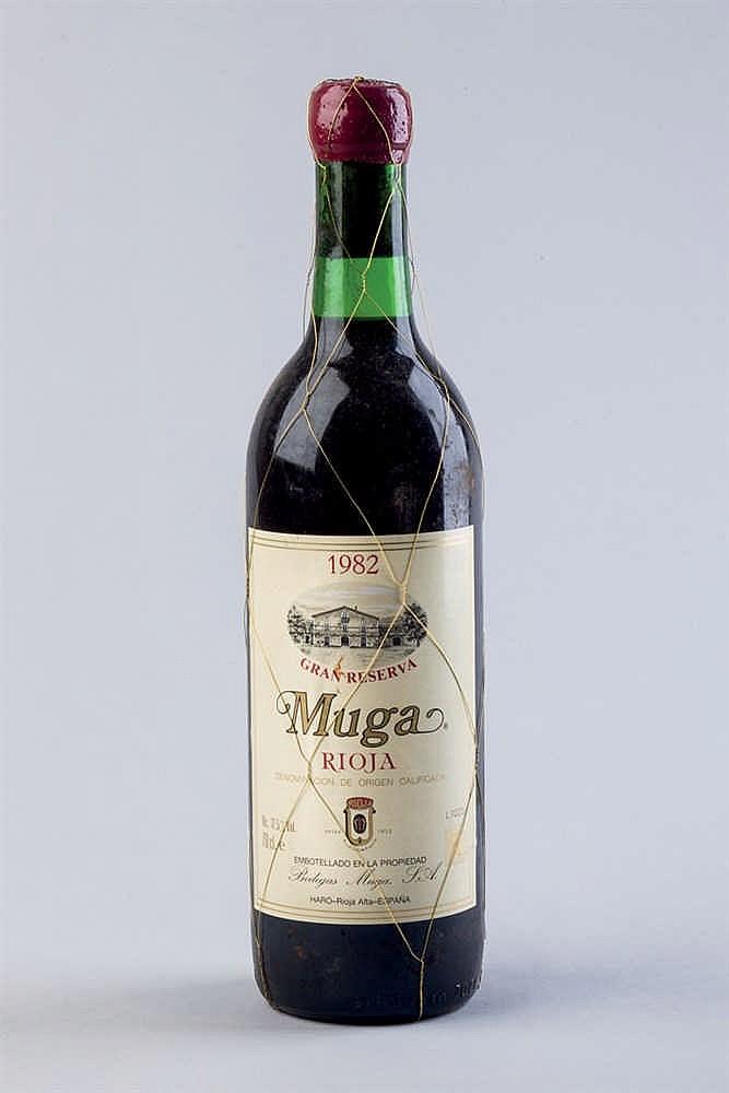 6 bottles Rioja Muga G. R. 1982