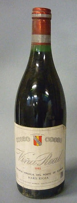 14 Bottles Rioja Viña Real, 1981
