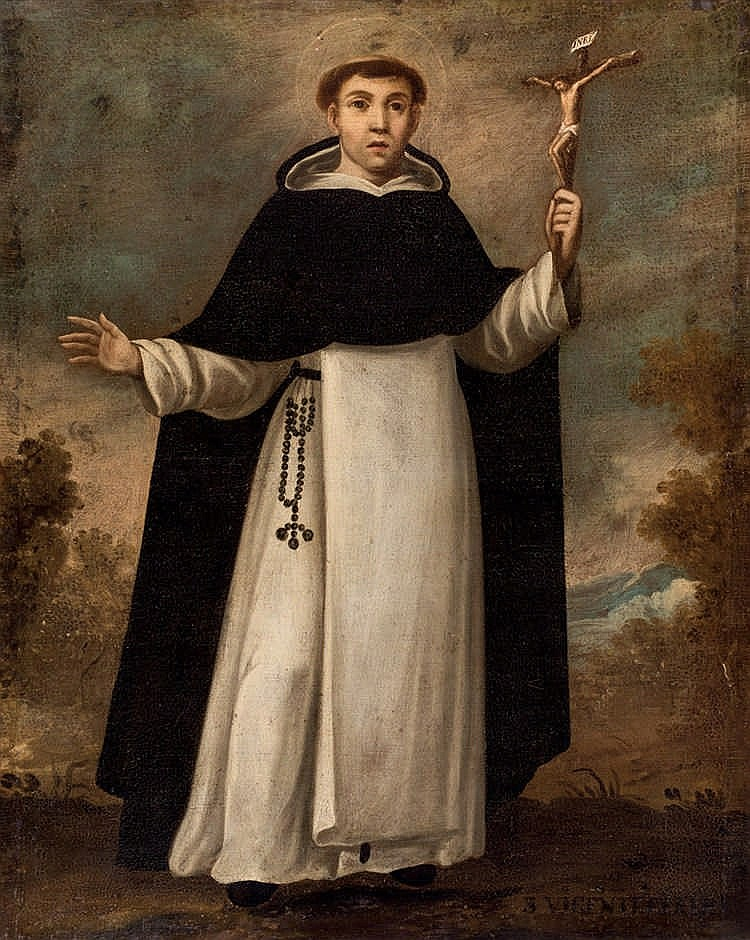 Spanish School, 18th C. Saint Vincent Ferrer