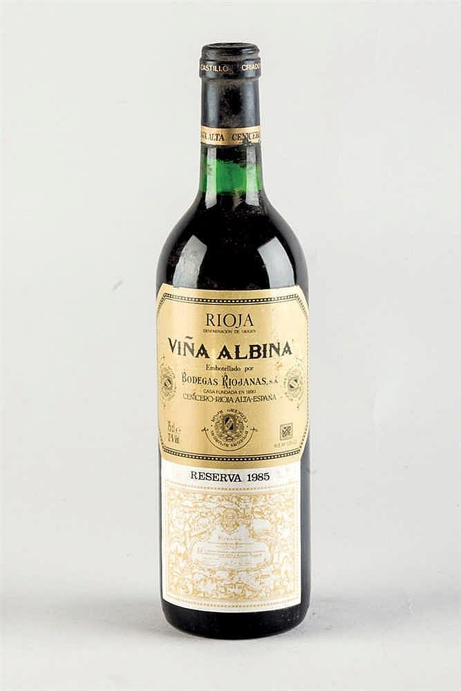 12 bottles Rioja Viña Albina Reserva 1985