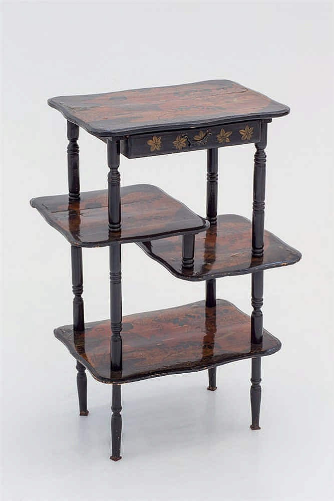 A late 19 th.C japanese occasional table
