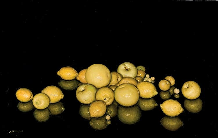 Carlos Laharrague. Sill life with fruits